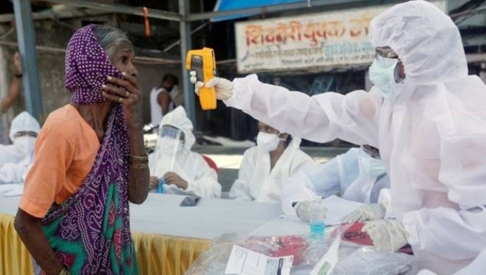 India Records 52,000 Coronavirus Cases In Last 24 Hours; Recovery Rate Reaches 64.4 Per Cent