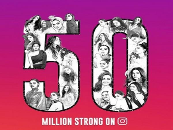 Deepika Padukone 'grateful' as fans celebrate her 50 ...
