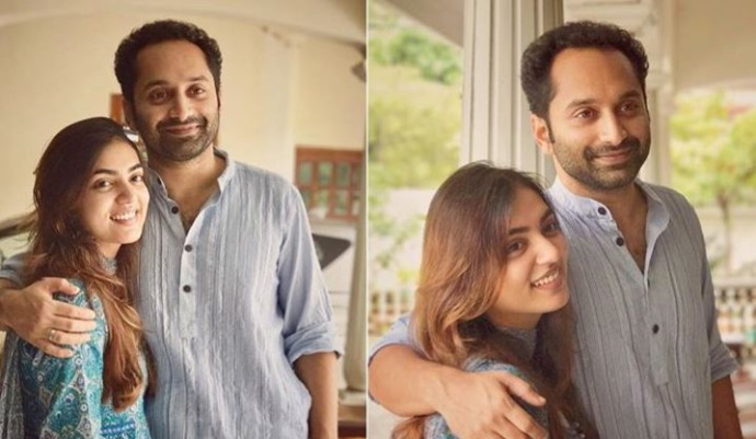 Did you check out this cute frame ft Fahadh Faasil, Dulquer Salmaan and the spouses yet?