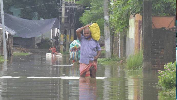 Entire Village In Bihar's Supaul District Drowned Due To Floods