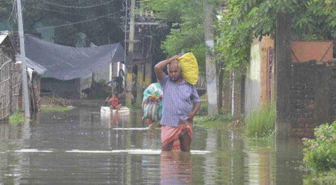 Heavy Rains Wreak Havoc In Many Parts Of India
