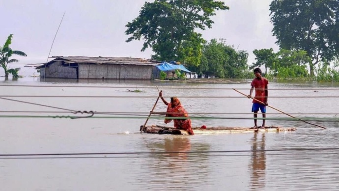Flash Floods By Heavy Rain In Assam And Bihar Affect Nearly 33 Lakh People