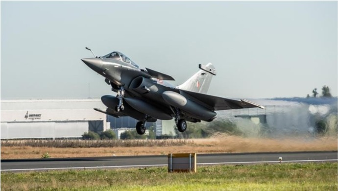 IAF Rafale Fighter Jets To Arrive At Ambala Air Base Today