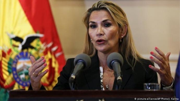 Now Bolivia's President Jeanine Áñez Test Positive For COVID-19