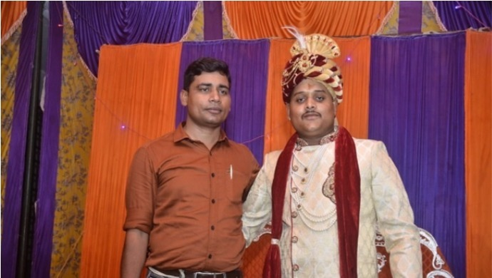 Video of Vikas Dubey Attending Kanpur SI KK Sharma's Wedding Surfaces Online