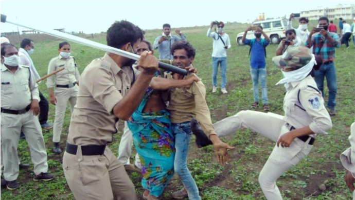 Guna Incident Of Police Brutality On Dalit Couple Raises Humanitarian Questions