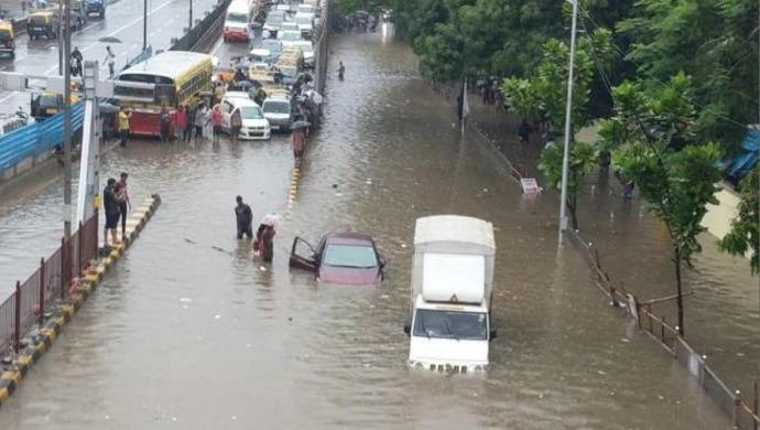 Mumbai Flooded Again As Heavy Rains Lash City Since Wednesday Morning