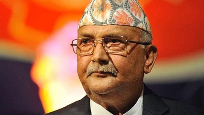Nepal Prime Minister KP Sharma Oli Visits President Bidhya Devi Bhandari