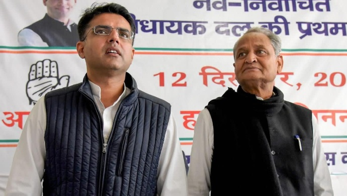 Rajasthan Political Crisis: CM Gehlot Shows Off MLA Support To Sachin Pilot