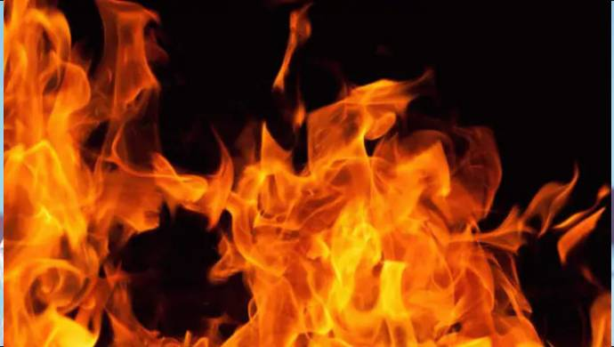 Fire Engulfs Two Buses In Rajasthan, No Casualties Reported