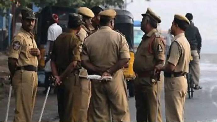 Rudrapur Policeman Rams Key In Youth's Head Over Argument