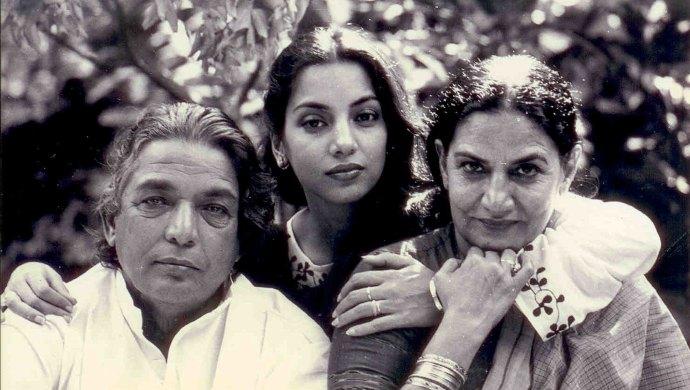 Shabana Azmi and Kaifi Azmi