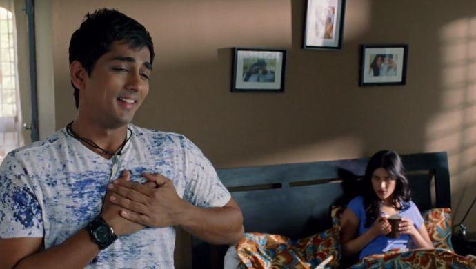 Siddharth and Shruti Haasan In Oh My Friend