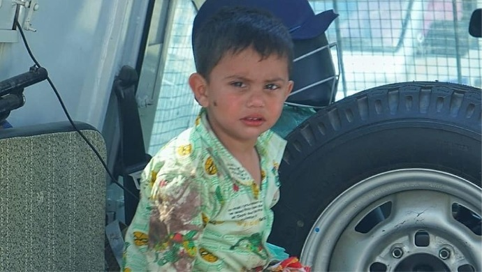 Army Jawans Rescue Three-Year-Old Boy Whose Grandfather Was Killed In Sopore Encounter