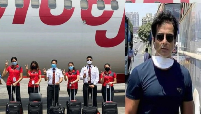 SpiceJet Ties Up With Sonu Sood To Bring Back Indian Students From Kyrgyzstan