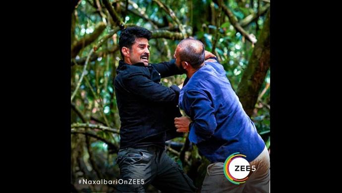 Still from the sets of Naxalbari on ZEE5