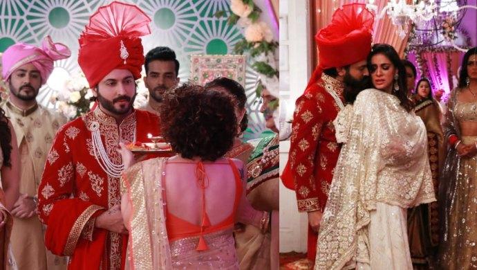 These Exclusive Stills From Kundali Bhagya Show Karan Is Set To Marry Mahira With Preeta Next To Him
