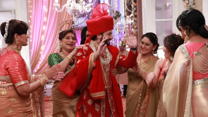 Stills from Karan's wedding in Kundali Bhagya