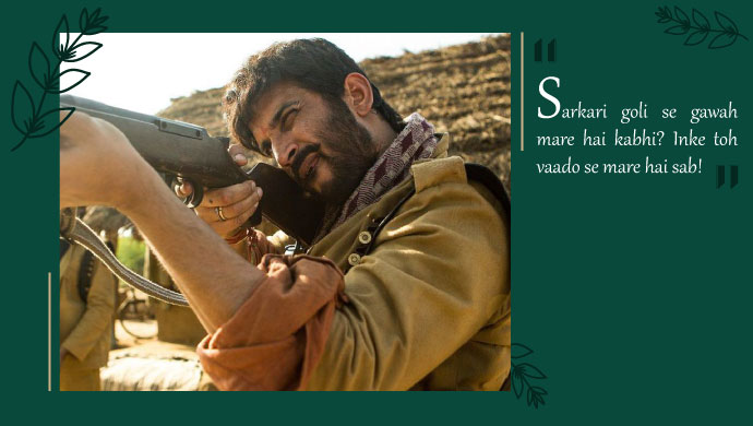 A still from Sonchiriya
