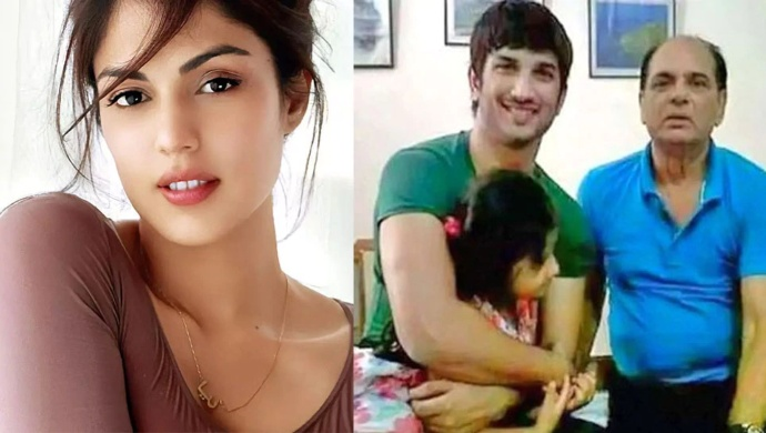 Sushant Singh Rajput's Father Files FIR Against Rhea Chakraborty, Five Others