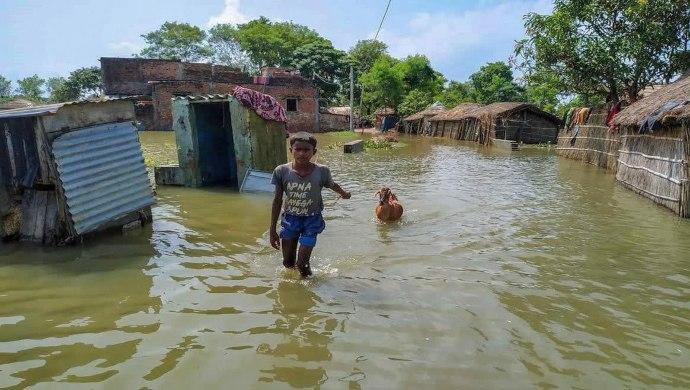 Bihar Floods: Ten Dead, Over 10.5 Lakh Affected, NDRF Teams Deployed