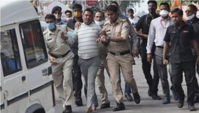 Two Lawyers From Uttar Pradesh Apparently Helped Gangster Vikas Dubey Escape To Madhya Pradesh