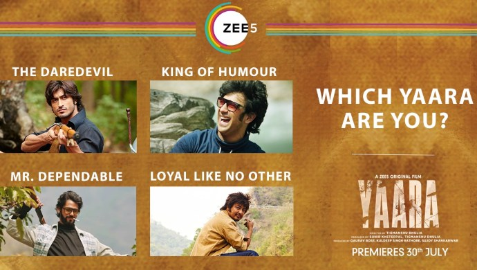 Find Out Which Character From #YaaraOnZEE5 Do You Relate To The Most In Your Friend's Group?
