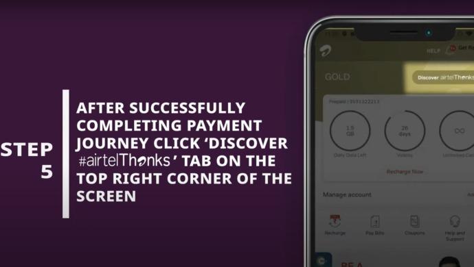 ZEE5 Subscription On Airtel Thanks App 5