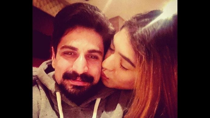 rajat tokas with wife srishti nayar