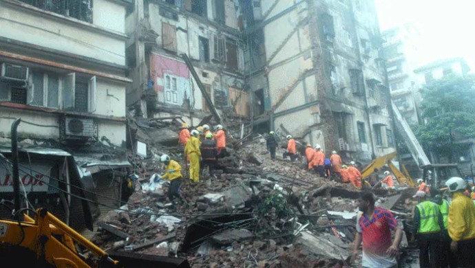Four-Storey Bandra Building Collapses In Mumbai, One Dead