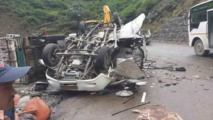 Five Killed In Car Accident In Gujarat's Nadiad On NH-8