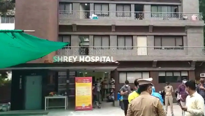 Fire Breaks Out At COVID-19 Hospital In Ahmedabad, Eight Dead