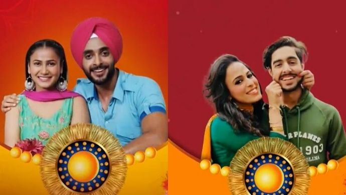 Check Out The Sibling Challenge Between Kamli Ishq Di's Deshveer-Nimrat And Mahi-Vicky