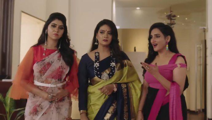 Daksha, Maya and Chitra from Hitler Gari Pellam