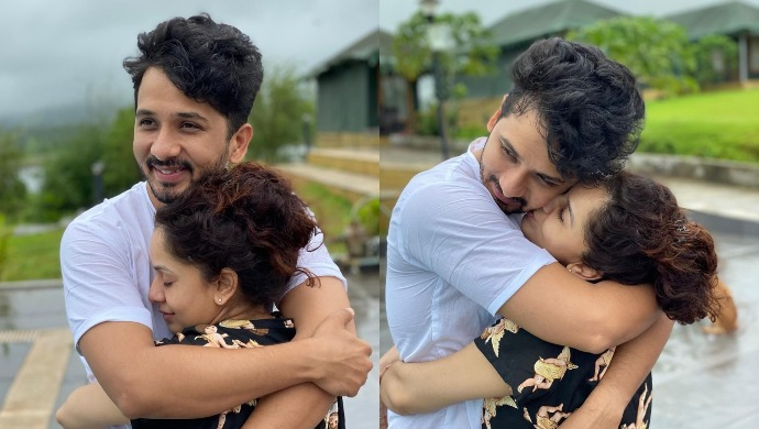 These Pictures Of The Mazhya Navryachi Bayko Actor Abhijeet Khandkekar With His Wife Sukhada Are Absolute #CoupleGoals