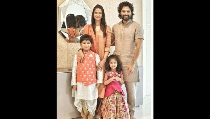 Allu Arjun and family