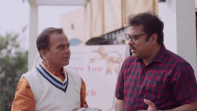 Anji and Amrutham in Amrutham Dhvitheeyam