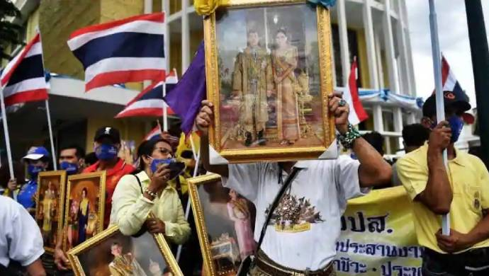 Anti-Government Demonstrators In Bangkok Call For New Elections In Thailand