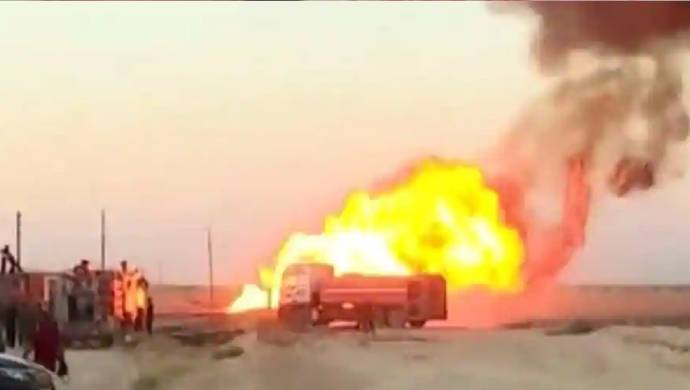 Arab Gas Pipeline Explosion Caused Blackout In Syria According To State Media