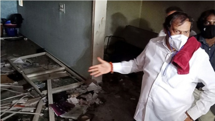 Bengaluru Violence: Congress MLA AS Murthy Demands Investigation Into His House Being Burnt