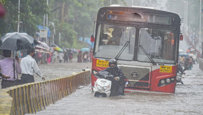 Mumbai Rains: Colaba Sees Highest Rainfall In 46 Years