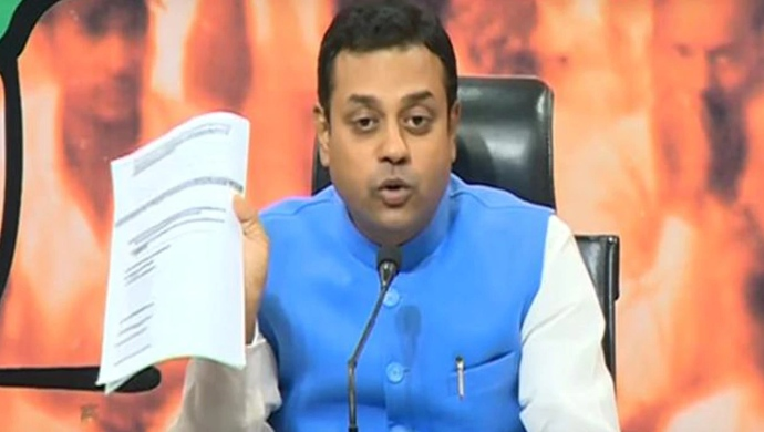 Sambit Patra Accuses Congress Of Filing 150 FIRs Against Him