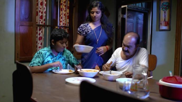 Das feeds Aniyankuttan and Kalyani (source:ZEE5)