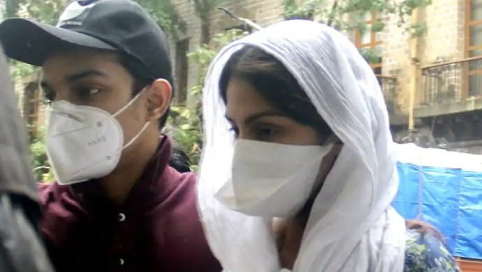 Sushant Singh Rajput Death: ED Interrogates Rhea Chakraborty Again