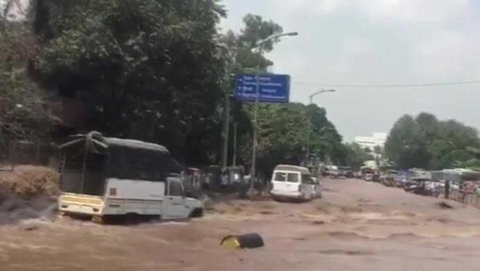 Terrifying Flood Visuals From Odisha And Chhattisgarh