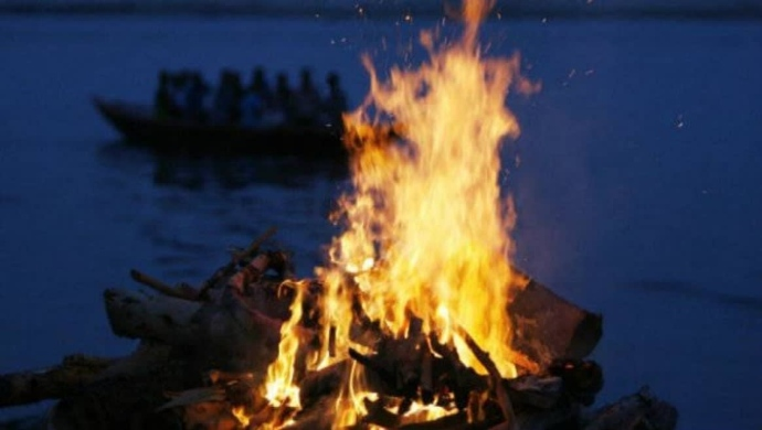 Uttarakhand Floods: Dead Body Burning On Pyre Washed Away