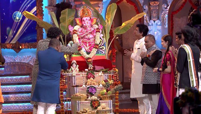 Sa Re Ga Ma Pa Season 17: Contestants And Judges Celebrate Ganesh Chaturthi
