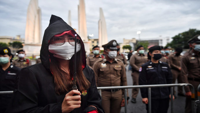 Thailand Activists Want To Cast A Spell Of Democracy Through Harry Potter-Themed Protest