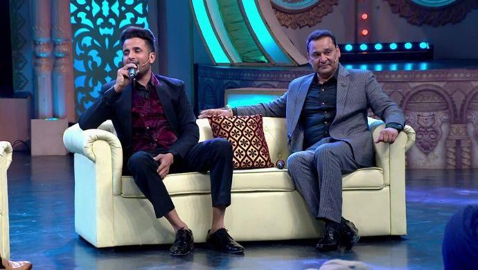 Hasdeyaan De Ghar Vasde: Nachhatar Gill and R. Nait laugh their hearts out