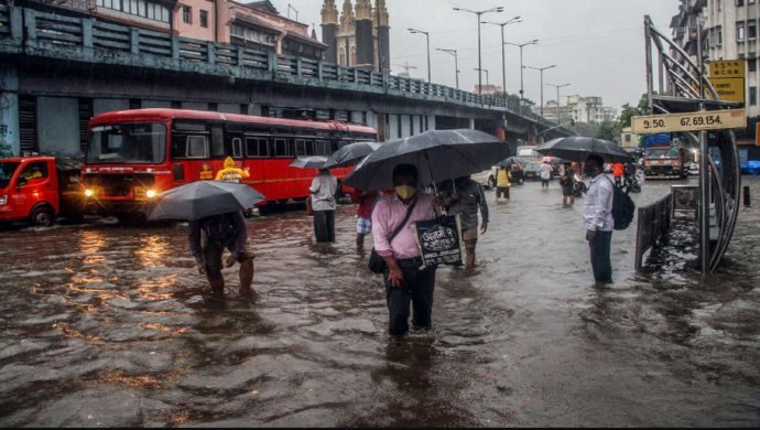 Delhi Rains: IMD Predicts Cloudy Sky With Heavy Showers